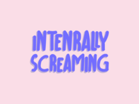 WIP Internally Screaming Logo