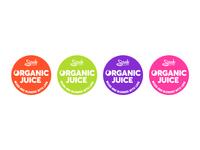 Organic Juice Stickers