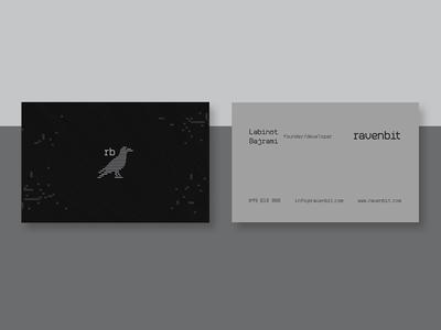 RavenBit BC print paper logo business cards cards bc