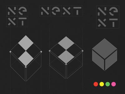 Next Rebrand nextcomputers box new identity apple paulrand stevejobs next rebrand logo