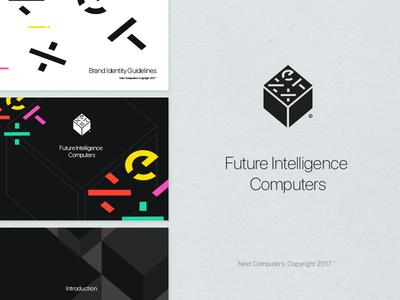 Next Rebrand 3 stevejobs rebrand paulrand nextcomputers next new logo identity box apple