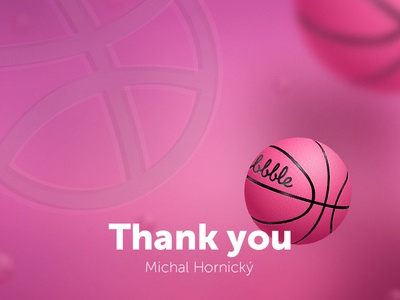Thank you Michal Hornický