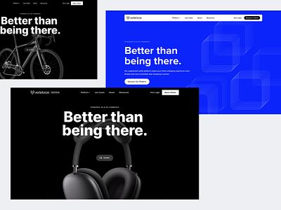 Vertebrae Landing Page vertebrae website webdesign redesign ui clean modern