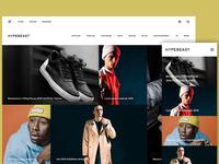 Hypebeast.com redesign