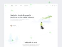 Kiwi.com About Landing Page