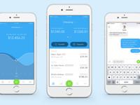Banking App Screen