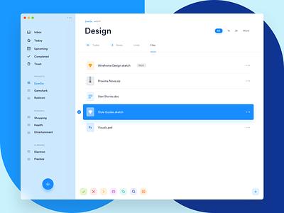 EverDo - Exploration tool to-do todo tasks blur os x management mac dashboard clean app