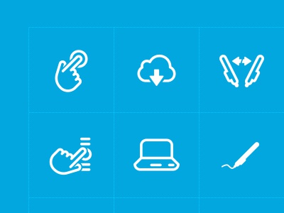 Wacom Iconography iconography wacom lines