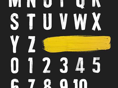 Desperados Brush Type brush paint typography