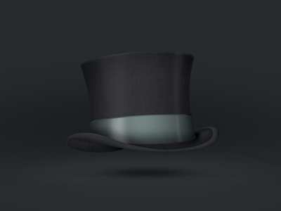 High hat icon experiment
