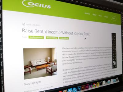 Ocius Blog
