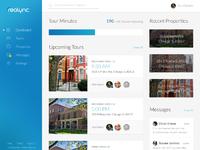 Realync web v01 dashboard