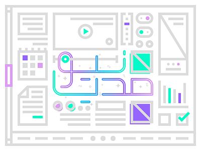 Newmedia typography minimal graphic persian farsi tehran tabriz iran wireframe ux ui newmedia