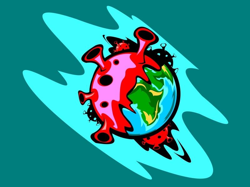 earth vs virus epidemic environment earth day stop the coronavirus earth disease design danger covid-19 country coronaviruses coronavirus corona-virus corona virus corona concept biohazard bacterial infection background alert 2019-ncov
