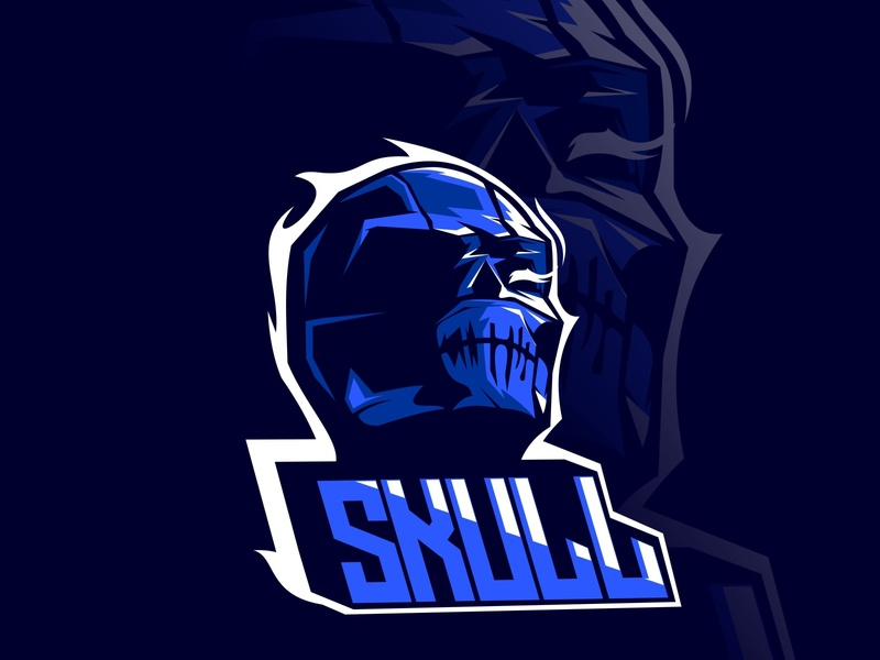 skull shirt fighter iron sport dangerous man evil symbol mascot logo emblem art badge vintage style skeleton design vector skull illustration