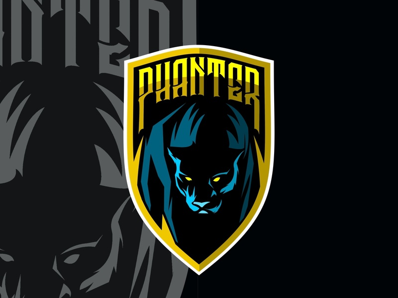 phanter mascot tattoo silhouette panther icon vector power wildlife nature illustration icons emblem animal cat predator black design sport logo mascot wild