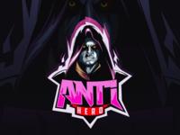 Anti hero team gaming game hero moba mascot logo esports