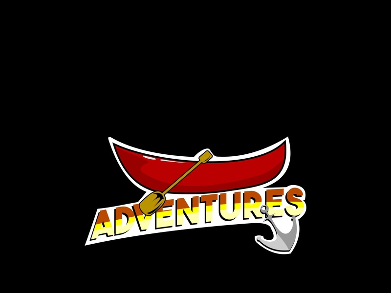 Adventures inflatable tour raft vector trip white water whitewater team camp travel outdoor activity river sport adventure rafting extreme summer boat