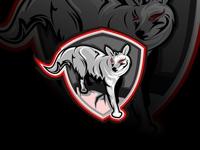 Coyote mascot design