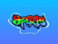 Sports graffiti