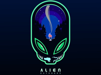 Alien outdoors