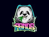 panda mascot color