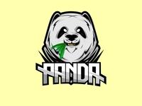 panda mascot basic color