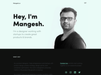Mangesh.co Personal Site