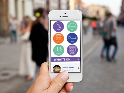 City of Leeds Rebrand: App re-design design copywriting typography brand design branding ux design ui design web design app design leeds england