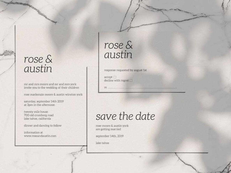 Wedding Invitation By Kelly Hansen