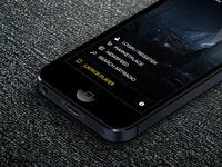 ArtRadio Mobile Site Mock