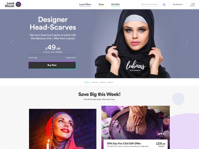 Ui/UX Dailies - Design Inspiration 013 shopping eid store ecommerce designinspirations typography website clean minimal design branding web web design ux ui