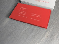 SCA Business Card Mock