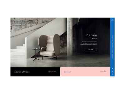 Ui/UX Dailies - Design Inspiration 021 ux web design website web branding minimal design ui designinspirations typography scandinavia dailyui daily ui scandinavian style scandinavian design