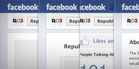 Facebook Timeline Fan Page & App UI Kit