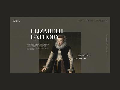 Bathory website web ux ui typography scandinavian minimalist interface designinspirations design