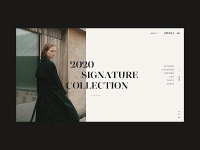 Zuria web design minimal interface designinspirations typography website ux web design ui