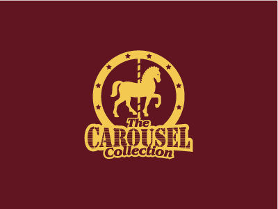 The Carousel Collection horse carousel retro vintage circus classic gift logo