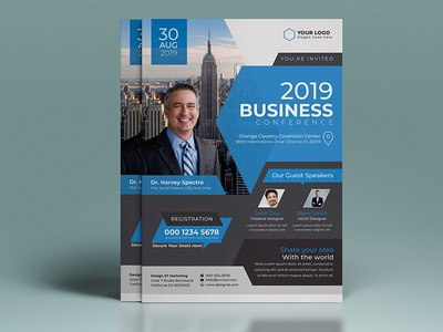 Corporate Conference Flyer Template