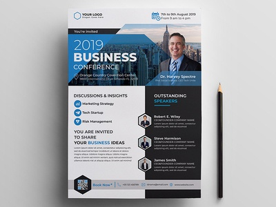 Corporate Business Conference Flyer