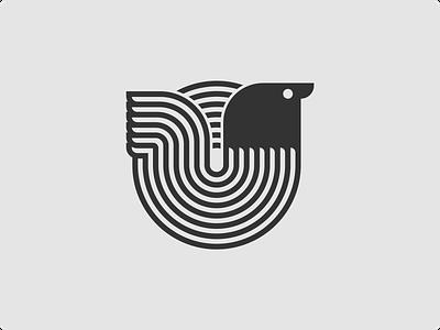Birdy Mark bird logo monogram