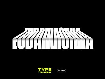 Type Treatment Vol. 1 psd type treatment typography