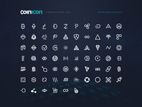 coinicon - Cryptocurrency Icon Fonts & CSS Bundle - Open Source