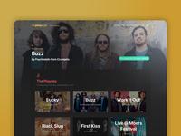The Play Dept. UI Revamp Homepage