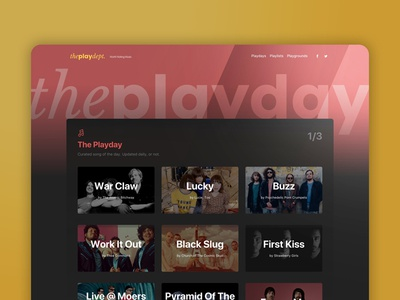 The Play Dept. UI Revamp Section Page