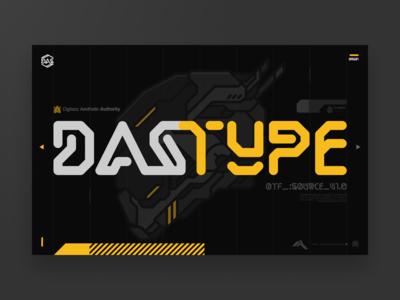 DAS TYPE Landing Page