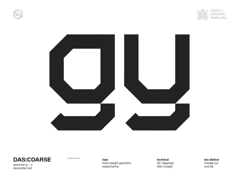 DAS:COARSE - g_y