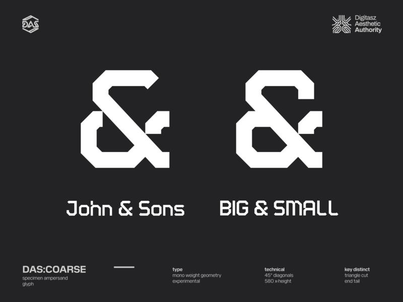DAS:COARSE - Ampersand