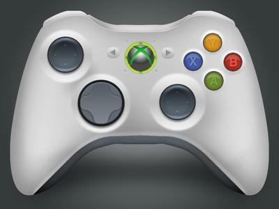 Xbox 360 controller icon icon xbox 360 controller vector realistic fun awesome