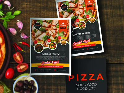 Pizza Promote Flyer